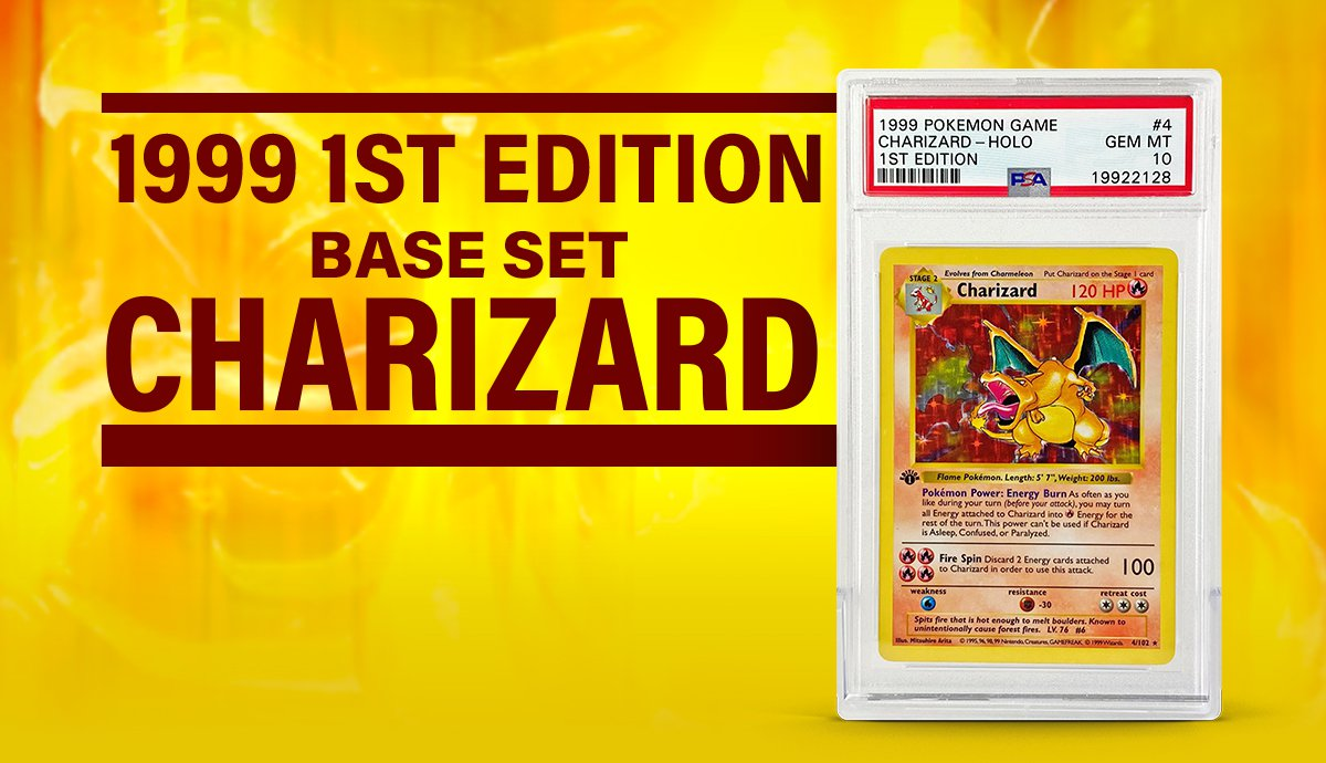 1999 POKEMON 1ST EDITION CHARIZARD HOLO SELLS FOR OVER